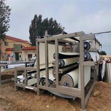 二手板框压滤机200平方隔膜压滤机型号图片
