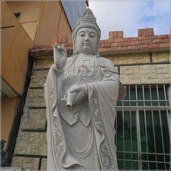 石雕人物加工定制校園石雕孔子雕像花崗巖漢白玉石雕孔子行教像