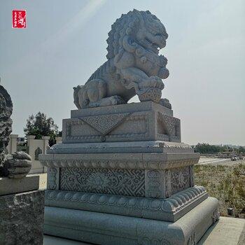 明清石雕獅子鑒定