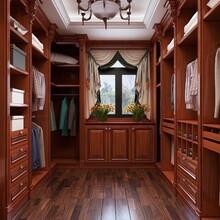 坚实衣柜实木衣柜设计合理,多层实木衣柜图片