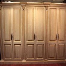全新衣柜实木衣柜制作精良,多层实木衣柜图片