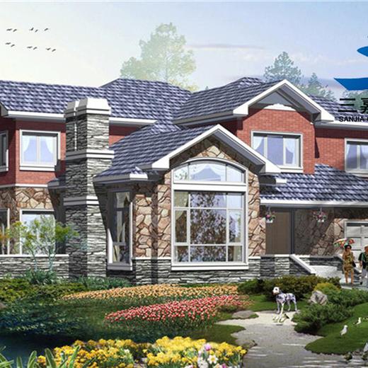 保定輕鋼-輕型木結構,農村翻房改造鋼結構