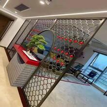 合肥酒店·別墅·會所廣州高比不銹鋼不銹鋼屏風隔斷專業定制圖片