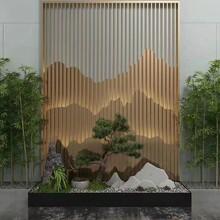東營酒店·別墅·會所廣州高比不銹鋼不銹鋼屏風隔斷款式新穎圖片