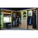 銷售衣柜實木衣柜經久耐用,免漆衣柜