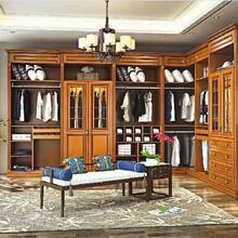 小型红树林衣柜实木衣柜优质服务图片