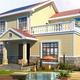 輕鋼別墅房屋圖