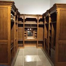 优雅衣柜实木衣柜瑰丽多彩,免漆衣柜图片
