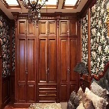 定制红树林衣柜实木衣柜造型美观,免漆衣柜图片