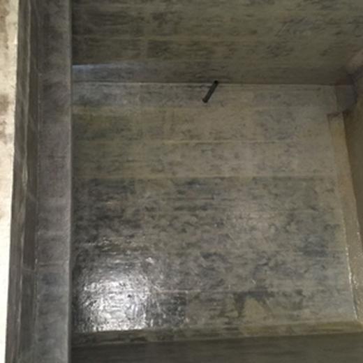 南川消防水池玻璃鋼防腐施工流程