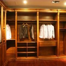 制造红树林衣柜实木衣柜放心省心,衣帽间图片