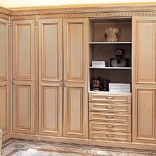 优质红树林衣柜实木衣柜质量可靠,免漆衣柜图片