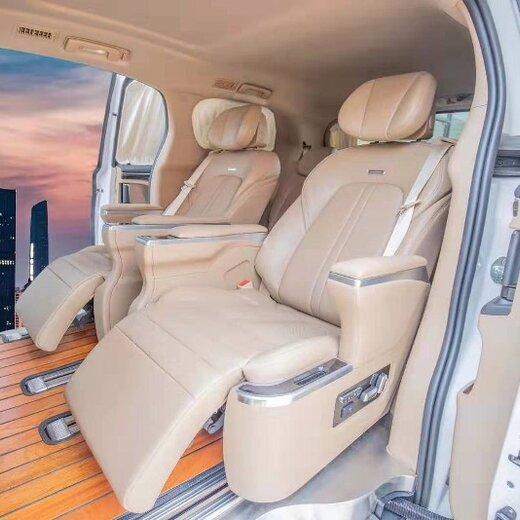 鄂州别克GL8改装航空座椅沙发床,别克GL8改装内饰