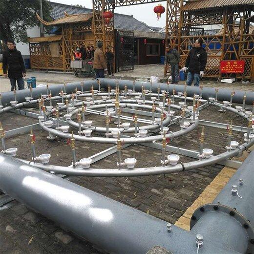 新疆音乐喷泉制作安装,喷泉