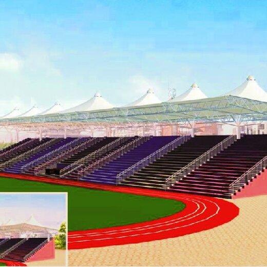 上海體育場膜結構看臺景觀好處
