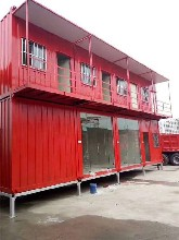 中山市優質活動房,鋼結構活動房圖片