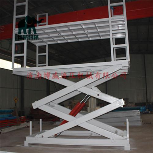 车库柱式汽车升降机,家用车库汽车升降机,立体车库升降平台,双层车库图片