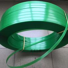 塑钢打包带厂家新料半透绿不开裂捆绑带1608规格图片