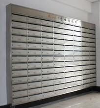 小區信報箱樓盤掛式信件箱物業快遞箱郵政信箱201不銹鋼304定制圖片
