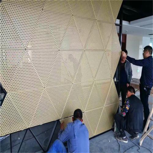 外墙冲孔铝单板
