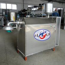 全自動電溫控自熟米線機,云南過橋米粉榨粉機包教技術圖片
