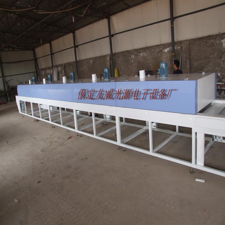 厂家定做印花烘道制造商热风网带式烘道设备