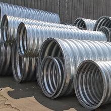 螺旋波纹钢管厂家咸宁钢波纹管涵包安装图片
