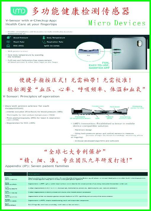 智能穿戴芯片,血压,心率,体温,血压IC方案开发