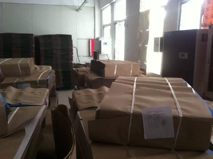 【广东汇典仓库纸品除湿,纸皮烘干设备,空调烘太阳能壁挂式纸板图片