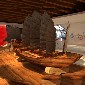 大型古木船厂家图片