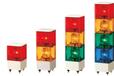 PATLITE派特萊方形報警燈KJB-302-RYG