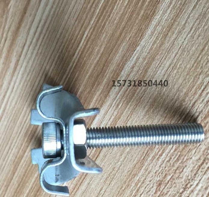 【宁夏钢格板安标准A30型装夹卡夹M扣沟盖不英国建筑设计类文书图片