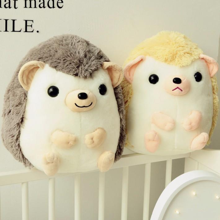 深圳公仔供应商可爱的刺猬毛绒玩具