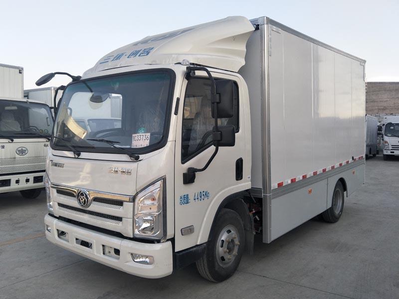 2米纯电动厢式货车厢式电动货车电动冷藏车新能源电动汽车国家有补贴图片