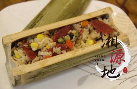 正宗竹筒饭培训丨竹筒饭培训 食品概述 竹筒饭是我国傣族