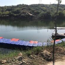 水上舞臺塑料浮筒水上表演舞臺用組合模塊功能浮筒舞臺
