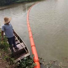 可以攔住水面一切飄浮垃圾無需維護新式攔污漂浮筒