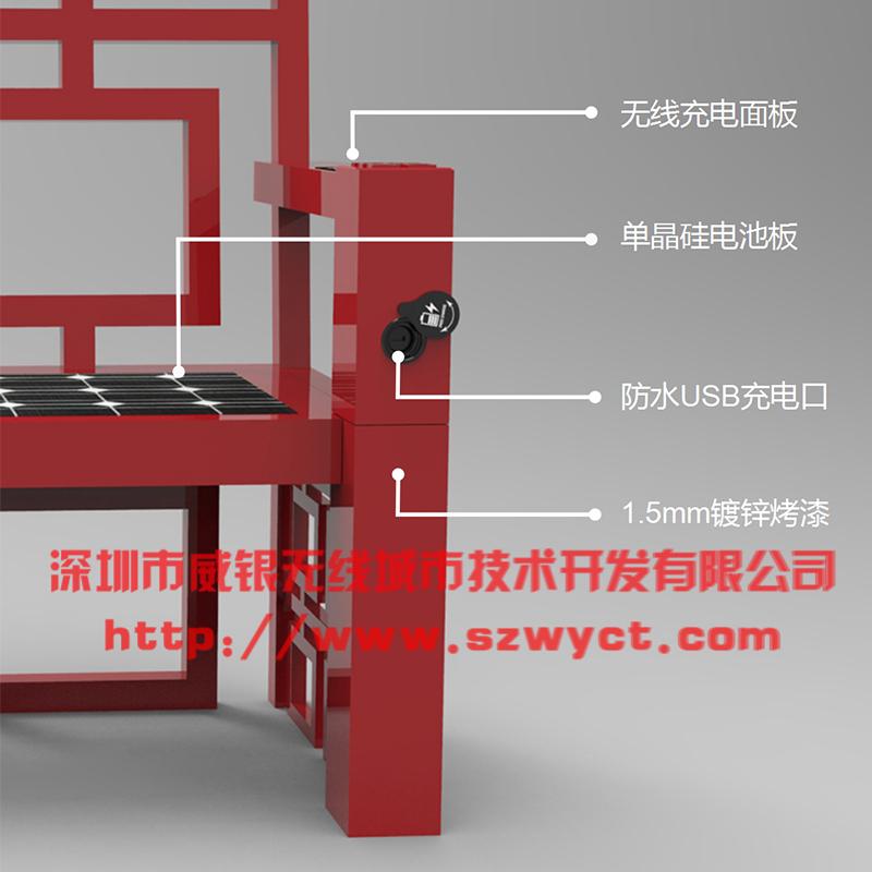 WYC2058太阳能智能座椅功能介绍