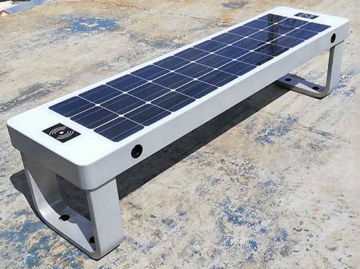 威银无线城市太阳能智慧座椅设计说明,智能座椅WYC1904