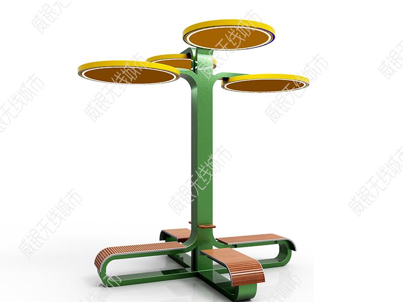 智慧太阳能座椅太阳树