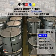 寶鋼彩涂卷、上海寶鋼彩鋼板價格、寶鋼彩涂板代理商圖片