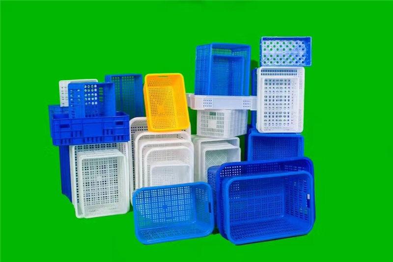 安顺全新塑料蔬菜水果筐厂家批发-送货上门