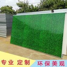 东莞夹心板围挡房地产城建施工临时封闭围挡彩钢铁皮围栏图片