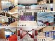 三亚展会搭建会展物料制作标准展位搭建直播间展板围挡图片