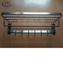 304不銹鋼加厚掛件衛生間毛巾架廁所浴巾架北京圖片