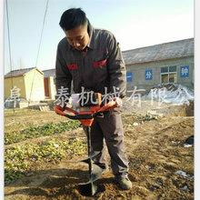 便攜式挖坑挖坑機的型號電線桿挖坑機視頻圖片