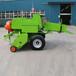 小型玉米桔桿打捆機柴草打捆機方捆打捆機自走式秸稈打捆機