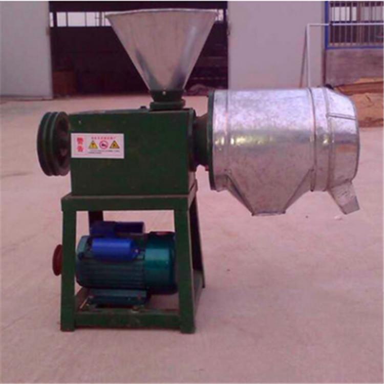 磨面机的原理_工作原理:磨面机的内、外磨头