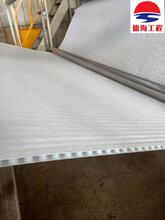 宜宾车库顶板HDPE白色全新料凹凸塑料排水板出厂价图片