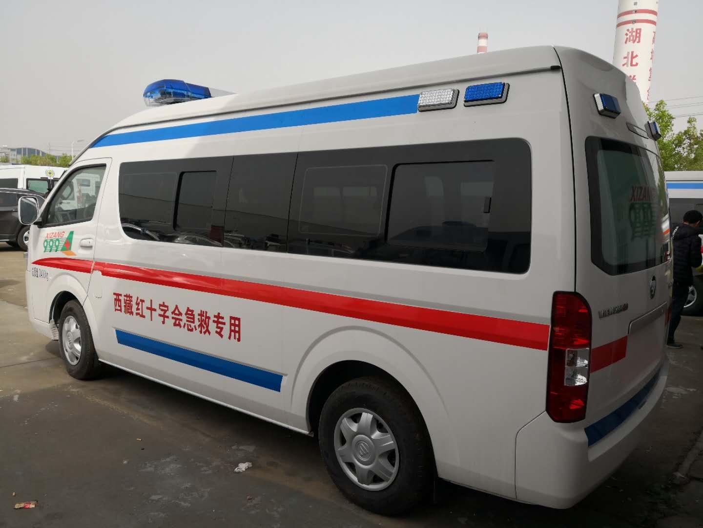我公司生产的福田风景g9救护车是